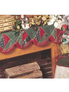 Special Occasion Quilting - Christmas Decoration Quilting Patterns - Crazy-Patch Christmas Set