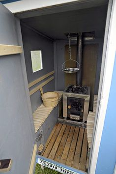 Mobile sauna festival: Mobile Sauna Rally in Teuva