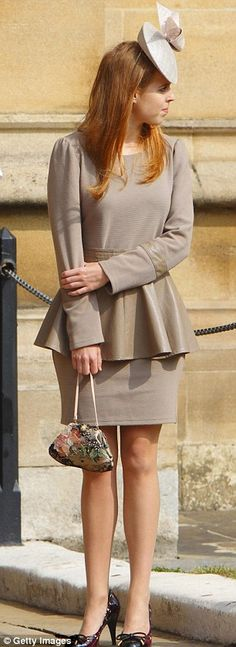 4/24/2011: Princess Beatrice attends an Easter Matins service
