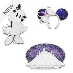 SET 3 PIN PINS  Minnie the main attraction small world  NEUF NEW Disney