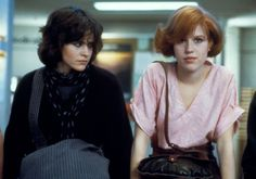 The Breakfast Club...high school friends thought I was Molly on the right; inside, I was totally on the left!
