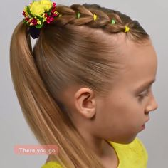 Two summer hairstyles that your little ones will love! Kids Curly Hairstyles, Baby Girl Hairstyles, Summer Hairstyles, Halloween Hairstyles, Childrens Hairstyles, Female Hairstyles, Hairstyles 2018, Natural Hairstyles, Medium Hair Styles