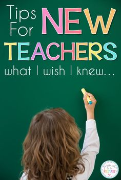 Tips for new teachers and students during back to school time. Includes ideas about classroom management, organization, and personal growth. #backtoschool #classroommanagement #classroomorganization #teachertips #newteacher