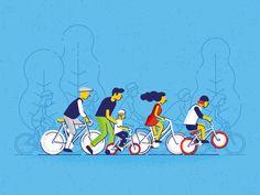 Riga Bike Week by Agris Bobrovs - Dribbble