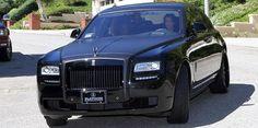 Kim Kardashian's Black Rolls Royce Ghost