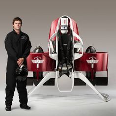 Martin Aircraft has announced that it will begin selling its manned jetpack in the second half of 2016 for about $150,000.  Developed over the past 35 years, Martin says its #jetpack is powered by a 200HP V4 petrol engine that drives two ducted fans for u