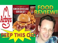 Arby's® Smokehouse Brisket Sandwich Review! Peep THIS Out!