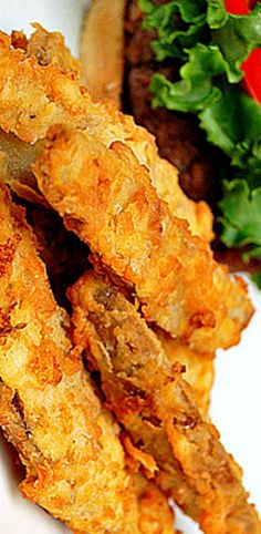Crunchy Potato Wedges - a super crispy, coated french fry that has a bit of spicy flavor