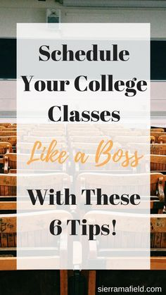 6 Tips on Scheduling College Classes for the First Time - Sierra Mafield : College classes can be a challenge to schedule, especially in your first semester! Check this out to know the top tips to schedule your classes like a pro! Freshman Quotes, College Freshman Tips, College Schedule, College Planning, College Classes, College Years, High School Classes, Freshman Year, College Hacks