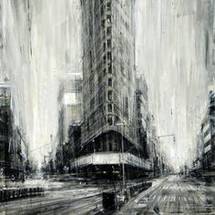 """Flat Iron""  Check out D'Ospina in Denver: http://www.mikewrightgallery.com/valerio-dospina.html"