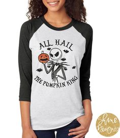 Nightmare Before Christmas Shirt Jack by ShineDesignsTees on Etsy