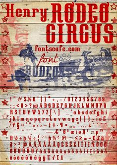 Henry Rodeo Circus :: http://designm.ag/resources/24-free-fonts-for-designers/#
