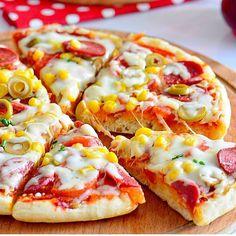 Bazlama Pizza Tarifi   Tutar ki bu