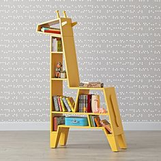 Cute yellow giraffe bookcase to decorate your kids bedroom. - Cute yellow giraffe bookcase to decorate your kids bedroom. Kids Bedroom Furniture, Home Furniture, Furniture Design, Bedroom Decor, Furniture Ideas, Furniture Stores, Children Furniture, Bedroom Kids, Furniture Buyers