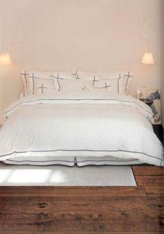 YVES DELORME : ATHENA - Linen Bedding, Bed Pillows, Pillow Cases, Furniture, Home Decor, Bedding, Linen Sheets, Pillows, Decoration Home