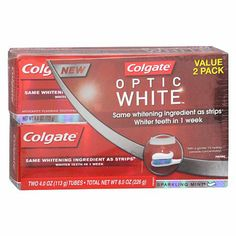 I'm learning all about Colgate Optic White Toothpaste at @Influenster! @Colgate