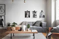 Boconcept Carmo sofa, ikea by ilse crawford coffee table