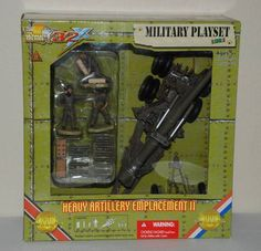 2008 Ultimate Soldier 32x 1:32 WWII HEAVY ARTILLERY EMPLACEMENT II #20510 NIB #UltimateSoldier