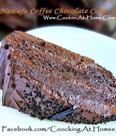 Nescafe Coffee Chocolate Cake ( New Recipe!! ) | Cooking at Home