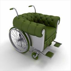 Wheelchair chair