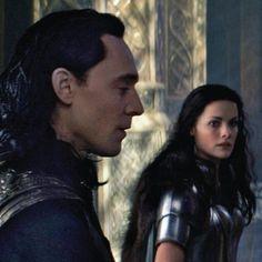 Loki & Sif