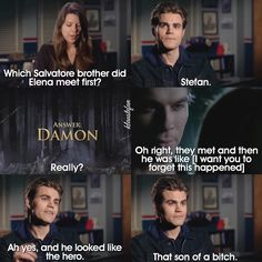 Paul Wesley Vampire Diaries about Damon Vampire Diaries Memes, Vampire Diaries Stefan, Vampire Diaries The Originals, Paul Wesley Vampire Diaries, Ian Somerhalder Vampire Diaries, Stefan Salvatore, Bonnie Bennett, Caroline Forbes, Lol So True