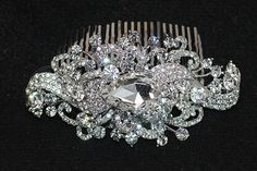 Bridal Headpiece, Wedding Hairpiece, Bridal Hair Comb, Crystal Comb ,Bridal Crystal Hair Comb