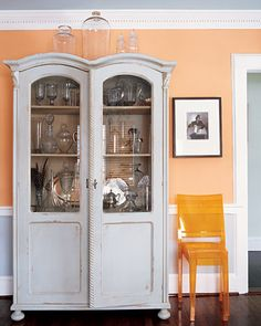 Pale Orange Paint i love this elegant soft apricot color, which is listed as one of
