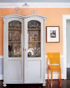 Peach paint on pinterest - Peachy orange paint color ...