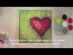 Exploring Pan Pastels Mixed Media 1 Highlights - Donna Downey Workshop