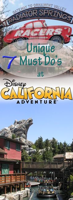 7 Unique Must Do's for Disney's California Adventures | SoCal Style