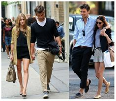 aww I like both couples outfits :)