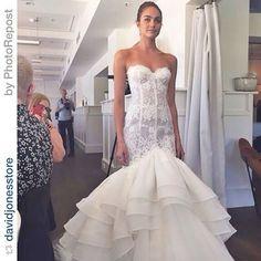 Steven Khalil wedding dress -magic lace
