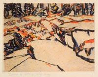 Prospect Shaft David B. David Milne, Franklin Carmichael, Tom Thomson, Painting Snow, Inuit Art, Paintings I Love, Canadian Artists, Winter Landscape, American Art