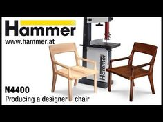 HAMMER® N4400 Holzbearbeitung. Designer-Sessel für Selbermacher (GER)