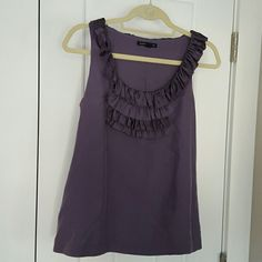 Banana Republic purple top This tank top is in perfect condition  Silky fabric.Bundle and save  Banana Republic Tops Blouses