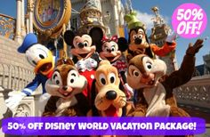 Plum District: 50% off Disney World Vacation Package!  Just $475 ($90 Deposit to Get Voucher)! Regularly $950!