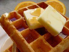 waffles for breakfast <3