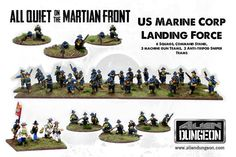 All Quiet on the Martian Front: US Marine Corp Landing Force (50 ...