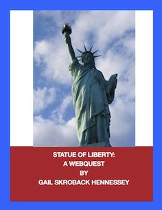 Use this informative webquest with your students to learn about the Statue of Liberty, one of the most famous landmarks in the United States.Grades 4 and up. There are 7 webquestions and several extension activities. The answer key is also included. http://www.teacherspayteachers.com/Product/Statue-of-Liberty-Webquest-778835  $2.00