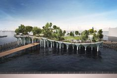 See New Images of Barry Diller's Floating Park -- NYMag