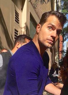 Busted Cavill for being too handsome...lol!! :)