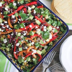 Check this out: Vegetable Fajita Salad with Chipotle Vinaigrette. https://re.dwnld.me/bDv-vegetable-fajita-salad-with-chipotle-vinaigrette