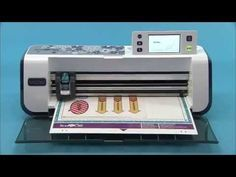 How to Make Printed Stickers with Lamination Using ScanNCut - YouTube