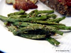 Parmesan Roasted Green Beans from 101 Cooking For Two