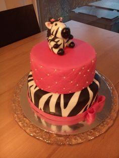 Lu's zebra cake