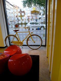 Bike, Pantone Hotel Brussels