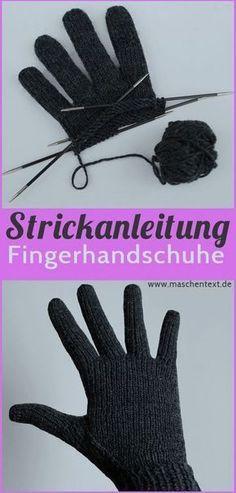 Perfekt passende Fingerhandschuhe stricken   Gratisanleitung auf Deutsch // Strickanleitung // Handschuhe // Merino // kostenlose Anleitung