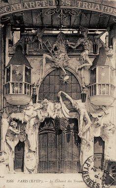 1910 - Le Cabaret des Truands, à Paris