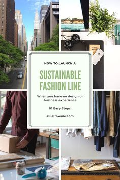 How to Start a Sustainable Fashion Business from Start to finish